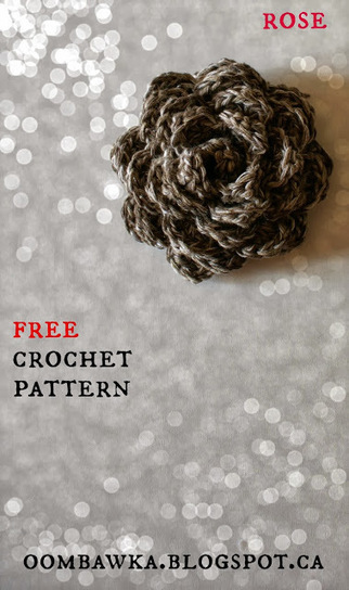 Free Flower Embellishment Crochet Pattern | crochet | Scoop.it