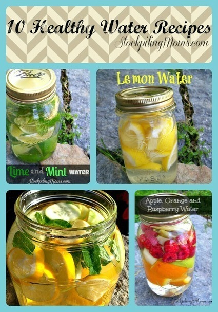 10 Healthy Water Recipes | ApocalypseSurvival | Scoop.it