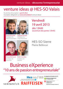 10 ans de passion entrepreneuriale - Business eXperience | Entrepreneurship Education & Effectuation | Scoop.it
