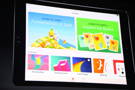 Apple launches Swift Playgrounds for iPad to teach kids to code | Classroom Technology Integration and Project Based Learning | Scoop.it