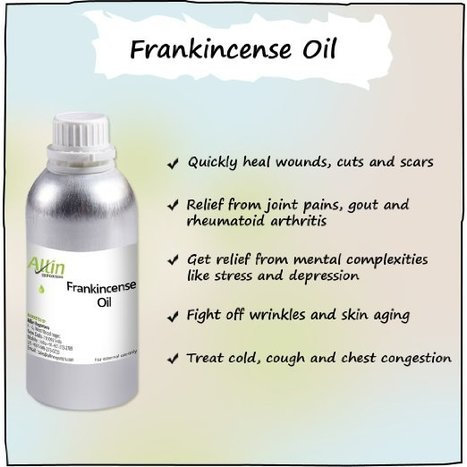 Buy 100% Pure Frankincense Essential Oil at Great Prices | Allin Exporters | Scoop.it