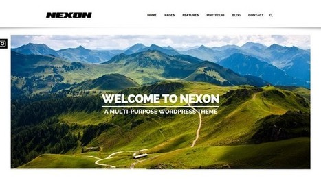 Nexon All-In-One Solution WordPress Theme | Free & Premium WordPress Themes | Scoop.it