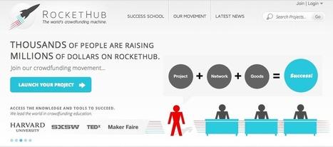 Rockethub, crowdfunding platform for science - KWS Forum | #LifeScience #Biotech #Crowdfunding | Scoop.it