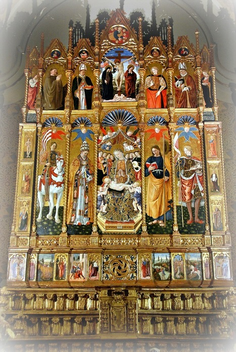 The Polyptych by Giovanni Boccati in the Church of Saint Eustace in Belforte del Chienti | Le Marche another Italy | Scoop.it