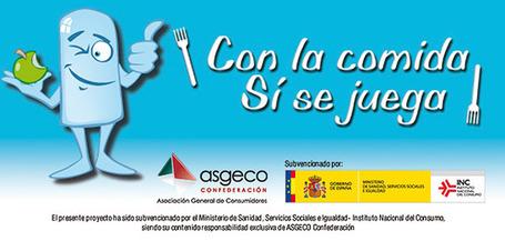 Con la comida SI se juega | Educación Física en El Carmen | Scoop.it