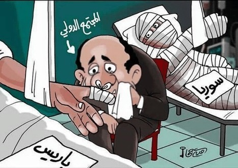 The crass symbolism in Arab cartoons following the terrorist attacks in Paris | Brian's Science and Technology | Scoop.it