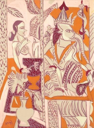 Artiste - K. G. Subramanyan (Indien) | Découvertes artistiques à Mumbai | Scoop.it