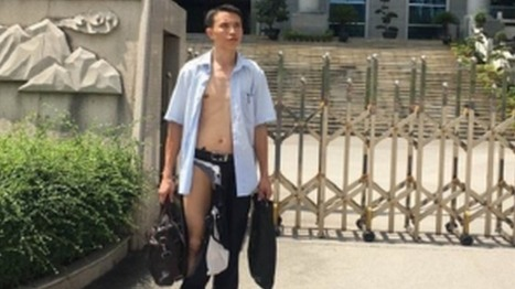 The Chinese lawyer who had his clothes ripped off in court - BBC News | Strange days indeed... | Scoop.it
