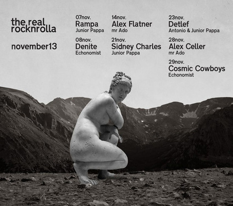 Event: Alex Flatner // The Real RocknRolla | 14 Nov. 2013 | Εκδηλώσεις Θεσσαλονίκη | Scoop.it