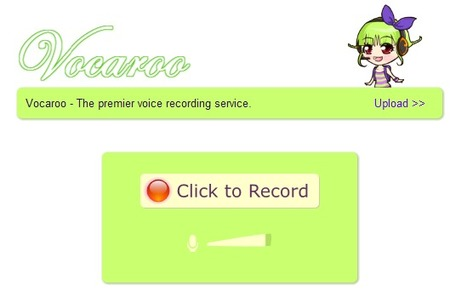 Vocaroo | Online voice recorder | Time to Learn | Scoop.it