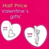 H.Samuel: 1/2 price Valentine's jewellery gifts | Math for the 1st grade | Scoop.it