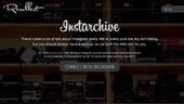 Instarchive, pour archiver ses photos Instagram | Archives Ouvertes | Scoop.it