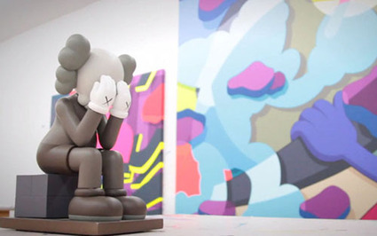 Kaws dégaine un Companion assis, le dernier ? | Rap , RNB , culture urbaine et buzz | Scoop.it