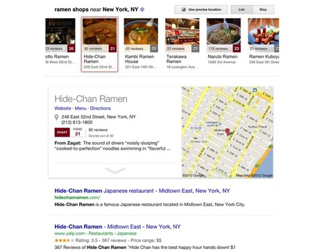 Google enhances local web search for US iPad users | Learning Technologies and Science Education | Scoop.it