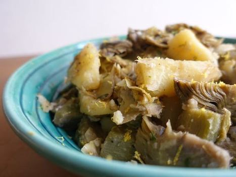 Artichokes and potatoes recipe | Le Marche and Food | Scoop.it