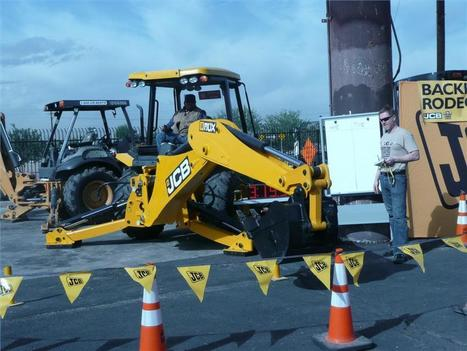 Flaska JCB Customers Show Skills at Backhoe Rodeo - Construction Equipment Guide | Earthmoving & Compaction | Scoop.it
