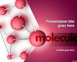 Free Molecule PowerPoint Template | Free Powerpoint Templates | Biology | Scoop.it