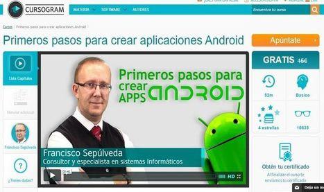 Un curso en línea y gratis para crear aplicaciones Android | E-Learning, M-Learning | Scoop.it