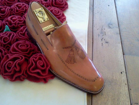 Silvano Lattanzi tattooed shoes | Le Marche & Fashion | Scoop.it