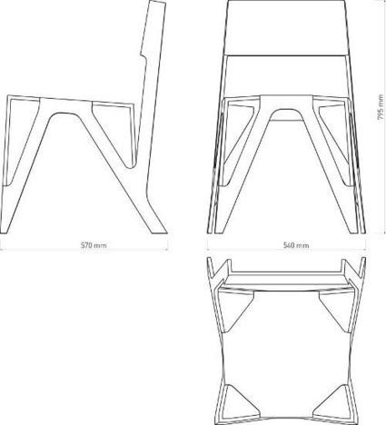Qui peut le plus peut le moins : The Bone Chair   Blog Esprit-Design : tendance Design / Deco   CRAW   Scoop.it