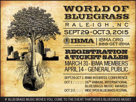 IBMA Announces 2015 Bluegrass Ramble Showcase Bands   Acoustic Guitars and Bluegrass   Scoop.it