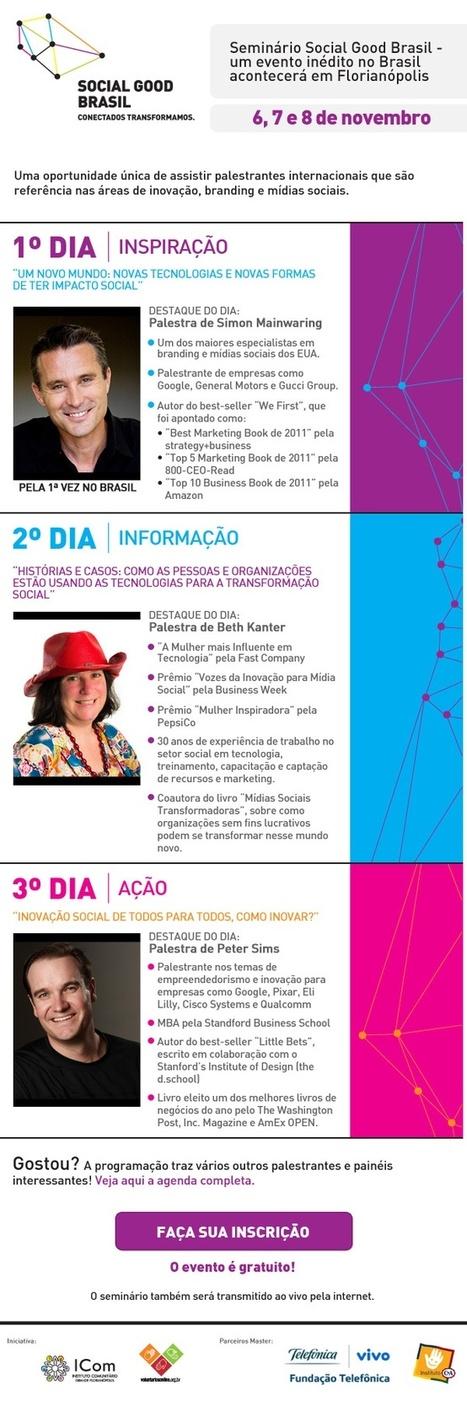 Social Good Brasil : the Seminar , November,  6th, 7th and 8th   SocialGood   Scoop.it