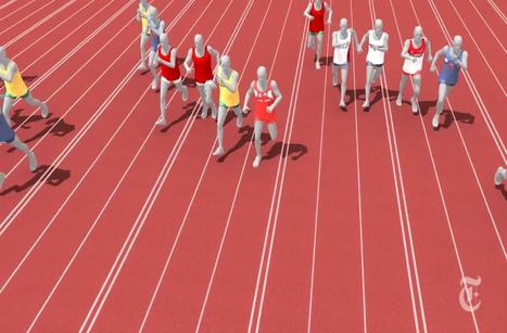 Usain Bolt vs. 116 years of Olympic sprinters. | Sprinticity | Scoop.it