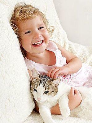 Bebés y gatos: ¿Pueden convivir?   ciberbebe.com   Scoop.it