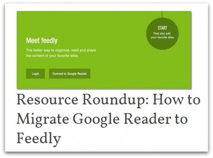 Step by step instructions to migrate Google Reader to Feedly | la veille et ses outils | Scoop.it