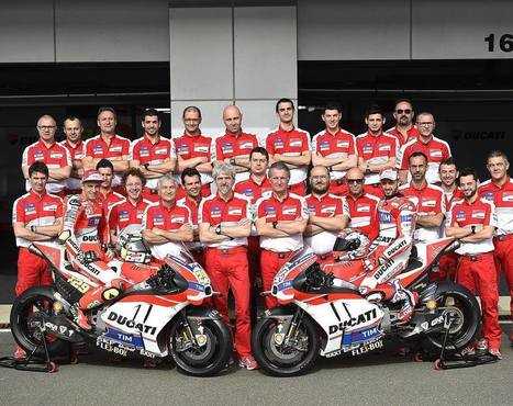 "Paolo Ciabatti on Instagram: ""The 2016 MotoGP Championship is about to start, and the Ducati Team is ready for the challenge! #forzaducati #ducatigpteam #ducatiteam…"" 
