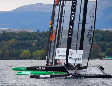 Little America's Cup - Groupama C takes third win in three races | Wing sail technology | Scoop.it