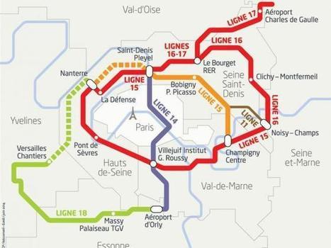 Un million de tonnes de déblais du Grand Paris Express pouraménager un parc urbain | Le Grand Paris des transports et des territoires | Scoop.it