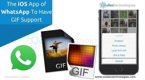 The iOS App of Whatsapp To Have GIF Support | Mobile-and-web-application | Scoop.it