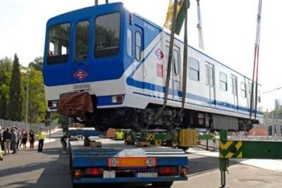 Argentina Doce coches del metro de Madrid serie 5000 embarcan en Bilbao camino de BuenosAires   interes general Patry   Scoop.it