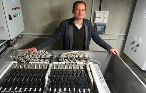 Nantes: La chaleur des ordinateurs utilisée pour chauffer l'eau des habitants   L'innovation par les usages   Scoop.it