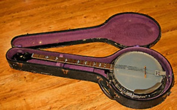 Gibson Longneck Banjo Circa 1930 Kalamazoo,... | Antiques & Vintage Collectibles | Scoop.it