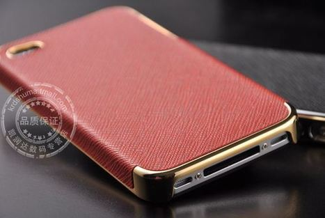 Red & Gold iPhone 4 protective case | Apple iPhone and iPad news | Scoop.it