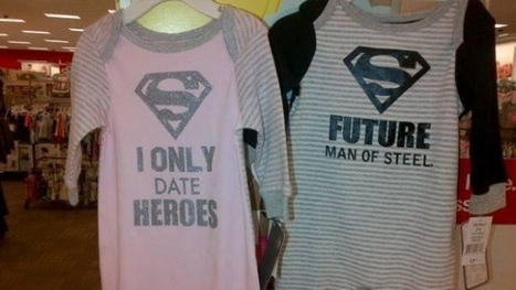Target baby PJs say boys are heroes, girls can date them | A Cultural History of Advertising | Scoop.it