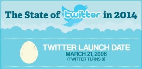15 фактов о Twitter в 2014 году. Инфографика   Медиа Татарстана   Scoop.it