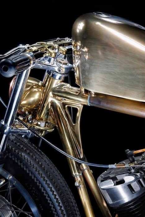 The Motorbike art of Chicara Nagata (Part 2) | Art and Interior Design | Scoop.it