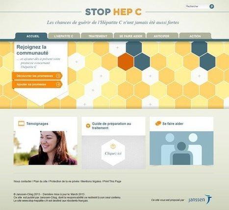 """Nouveau portail web sur l'Hépatite C par Janssen   la santé """"digitale""""   Scoop.it"""
