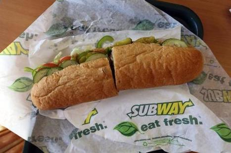 Subway's $5 footlong now costs $6 | Kickin' Kickers | Scoop.it