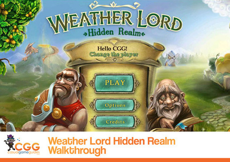 Weather Lord: Hidden Realm Walkthrough: From CasualGameGuides.com | Casual Game Walkthroughs | Scoop.it