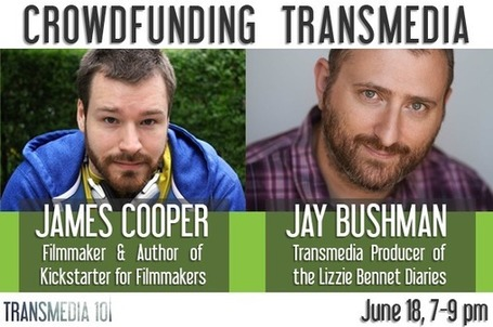 Can't WAIT! Jay Bushman on Lizzie Bennett Diaries & Crowdfunding Transmedia | Transmedia 101 - June 18 Toronto! | Tracking Transmedia | Scoop.it