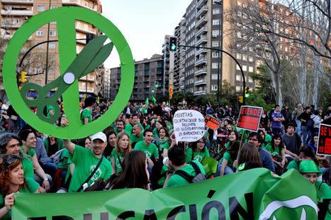 el ventano: Zaragoza se rebela en masa contra la reforma | #Vada29M | Scoop.it
