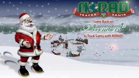 NORAD says they received a record number of calls from children -- and some adults -- to track Santa Claus | The Billy Pulpit | Scoop.it