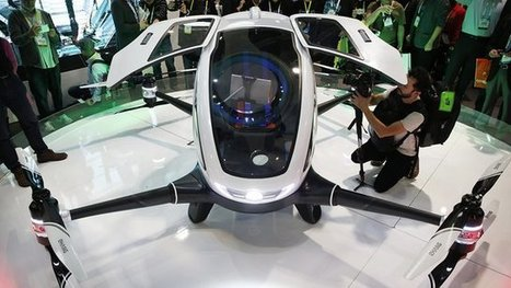 World's first passenger drone cleared for testing in Nevada | Future Trends and Advances In Education and Technology | Scoop.it