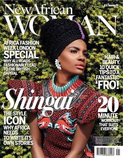 Style Icon & AFWL 2013 Ambassador Shingai Shoniwa covers the August ... - Bella Naija | women fashion techniques | Scoop.it