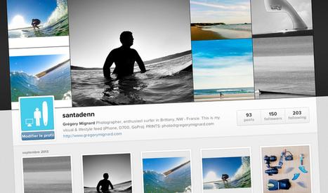 Oui, j'ose comparer Instagram à 500px ou Flickr : Santadenn Journal | Management et promotion | Scoop.it