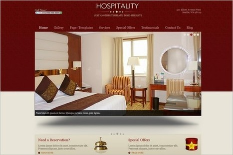 20 WordPress Themes Perfect for Hotel and Resorts | WP Daily Themes | ggggggggggggg | Scoop.it